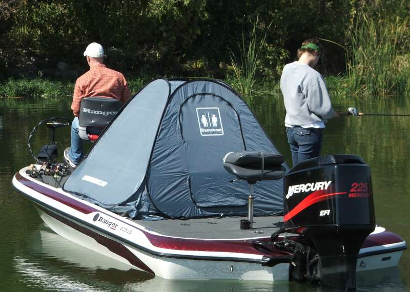Portable Boat Covers : Portable tailgating bathroom toilet restroom accessories